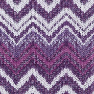 Servietten Knitted Chevron