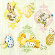 Servietten Ostern Easter Mix