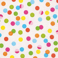 Servietten Geburtstag Party Dots