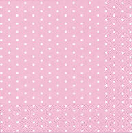 Servietten Mini Dots Rose