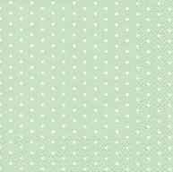 Servietten Mini Dots Pastel Green