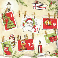 Servietten Advent Calendar